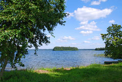 Lake Plateliai, Lithuania Stock Image