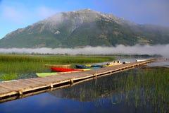 Lake Plav. Montenegro Plav Lake-Plav Gusinje mountains Visitor nature royalty free stock photography