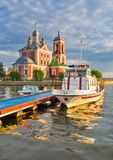 Lake Pleshcheyevo Royalty Free Stock Image