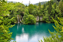 Lake in plitvica Stock Photos