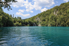 Lake in Plitvice, Croatia Stock Images