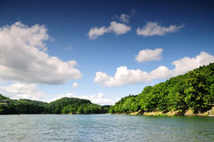 Lake Pocuvadlo in summer Stock Photo