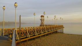 Lake Pogoria in the Silesia region in Poland stock photos