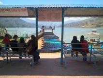 Lake of Pokhara Stock Photos