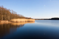Lake in Poland Stock Image