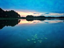 Lake in Poland Royalty Free Stock Photography