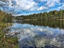 Lake in Poland Royalty Free Stock Photo