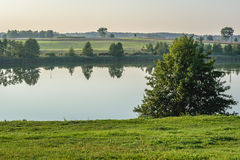 Lake in Poland Stock Images