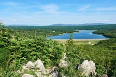 Lake Ponikve Stock Image