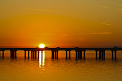 Lake Pontchartrain Causeway Stock Image