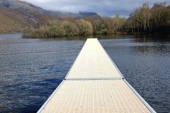 Lake pontoon. Royalty Free Stock Image