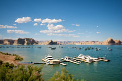 Lake Powell. In Arizona USA Royalty Free Stock Photography