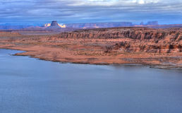 Lake Powell Arkivbild