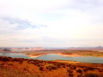 Lake Powell Arkivbild
