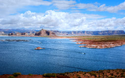 Lake Powell Arizona Royalty Free Stock Photo