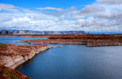 Lake Powell Arizona Royalty Free Stock Photography