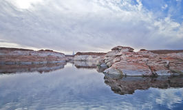 Lake Powell Arizona Stock Photo