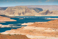 Lake Powell Arizona - panorama Stock Image
