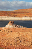 Lake Powell in a beautiful day Stock Photography