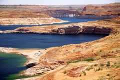 Lake Powell Close To Glen Canyon Dam Stock Photo