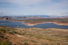 Lake Powell. And Colorado river Stock Images