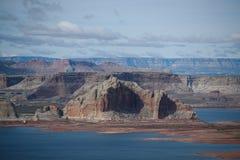Lake Powell. And Colorado river Royalty Free Stock Photos