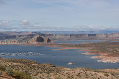 Lake Powell. And Colorado river Stock Photos