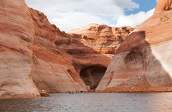 Lake Powell Cove Entrance Royalty Free Stock Photography