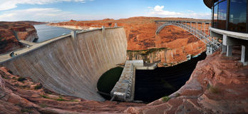 Lake powell dam Royalty Free Stock Photography