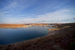 Lake Powell Dam Royalty Free Stock Image