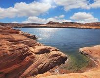 The Lake Powell  by Fisheye lens Stock Photo