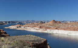 Lake Powell and Glen Canyon Stock Images