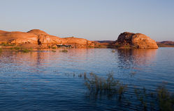 Lake Powell and Glen Canyon Stock Photo