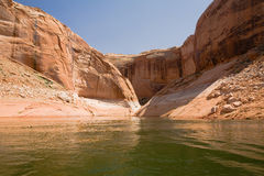 Lake Powell and Glen Canyon Stock Image