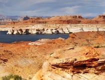 Lake Powell, Glen Canyon Royalty Free Stock Photography