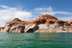 Lake Powell, in Glen Canyon  in Utah and Arizona Royalty Free Stock Images