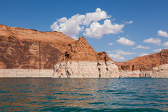 Lake Powell, in Glen Canyon  in Utah and Arizona Stock Photo