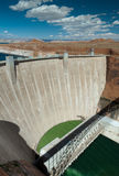 Lake Powell hydro dam Royalty Free Stock Photo