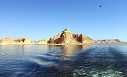 Lake Powell Island Stock Photos
