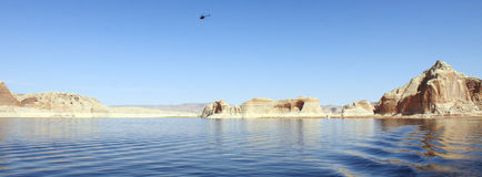 Lake Powell Island Stock Images