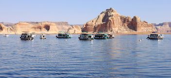 Lake Powell Island Royalty Free Stock Photo
