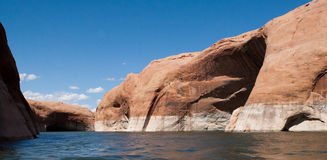 Lake Powell Landscape Royalty Free Stock Photography