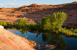 Lake Powell Landscape 6 Royalty Free Stock Photo