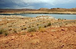 Lake Powell Landscape Stock Photo