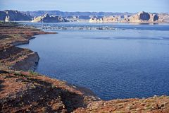 Lake Powell Landscape Stock Images