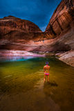Lake Powell Lost Eden Stock Photography