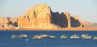 Lake Powell Marina Royalty Free Stock Photography
