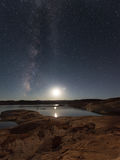 Lake Powell at Night Stock Photography