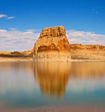 Lake Powell night landscape Royalty Free Stock Images