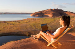 Lake Powell Office Stock Photography